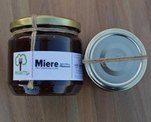 Miere cremă cu alune de pădure și roșcove Primitiv Foods