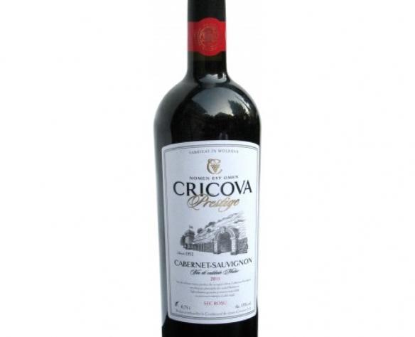 Cricova Prestige cabernet sauvignon