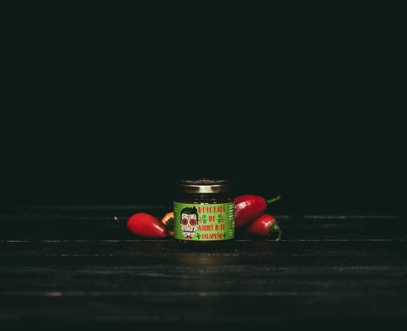 Dulceață de ardei iute roșie Fructele Pământului