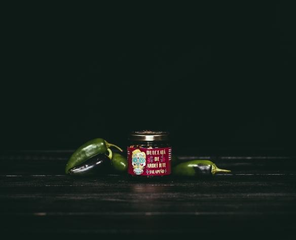 Dulceață de ardei iute verde Fructele Pământului