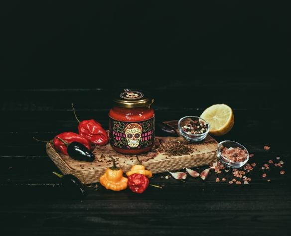 Pastă de ardei iute Fructele Pământului