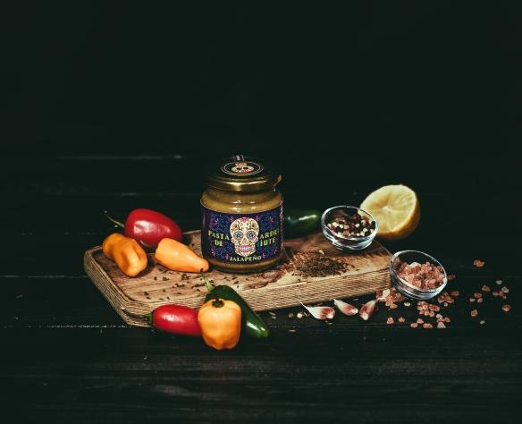 Pastă de ardei iute Jalapeno Fructele Pământului
