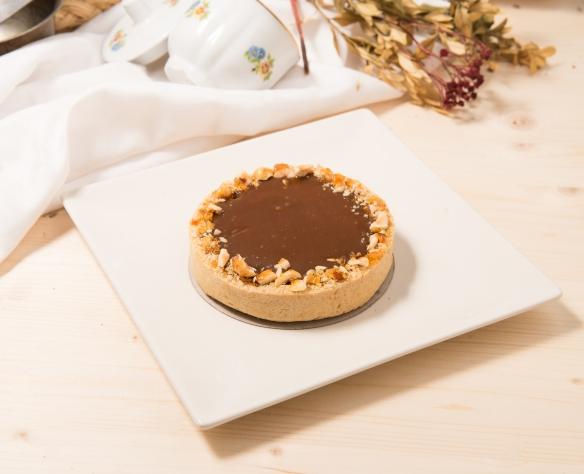 Tartă cu ciocolată și caramel Dolci di Fabio