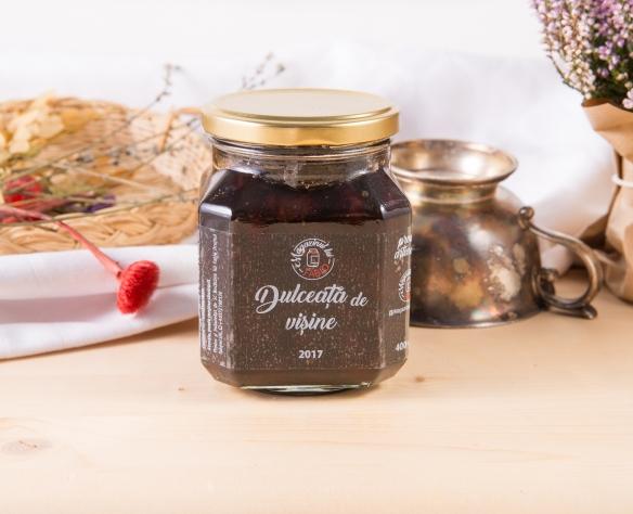 Dulceață de vișine cu vanilie Magazinul lui Fabio