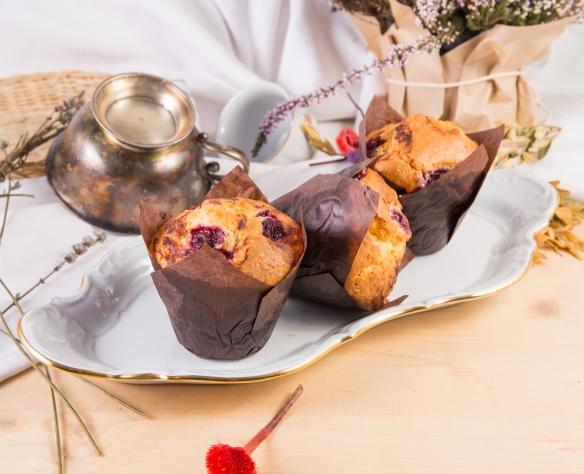 Muffin cu vișine Dolci di Fabio