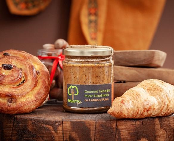 Gourmet tartinabil cu cătină și polen
