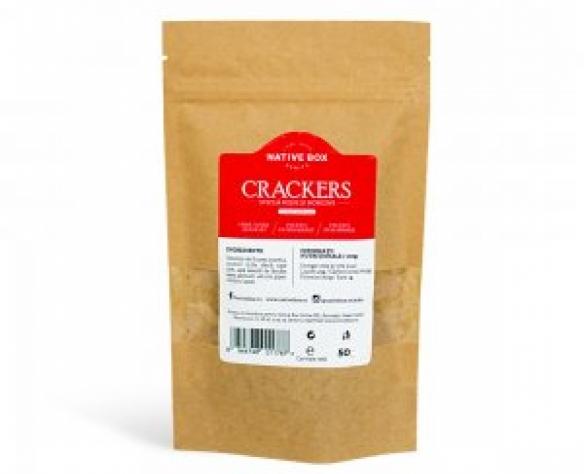 Crackers sfecla rosie si morcovi NativeBox
