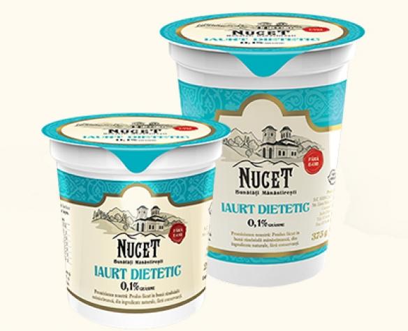 Iaurt dietetic Nucet