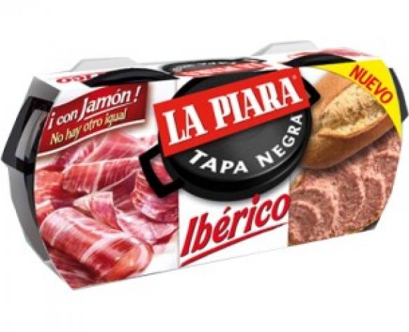 Pate de porc iberico La Piara