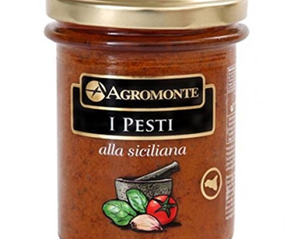 Pesto siciliano cu roșii cherry Agromonte