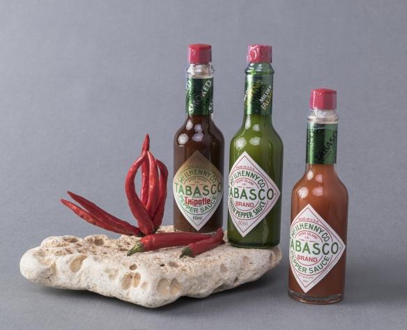 Tabasco sos de ardei roșu